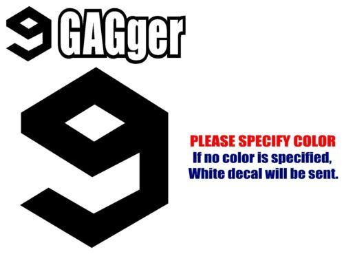 9GAGger 9GAG Graphic Die Cut decal sticker Car Truck Boat Window Laptop 7/""