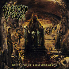 HARMONY DIES - Indecent Paths Of A Ramifying Darkness - CD Digipak - DEATH METAL