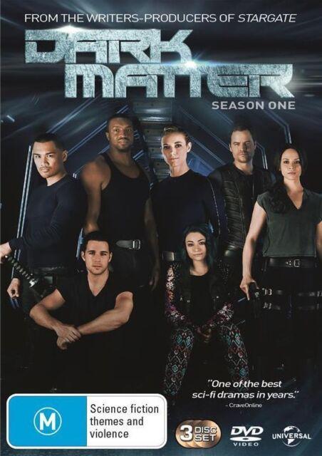 Dark Matter : Season 1 (DVD, 3-Disc Set) NEW