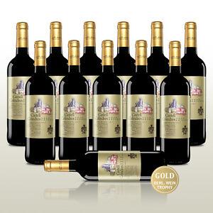 12 Fl. Castell Colindres Gran Reserva 2011, 24 Monate Barrique -Perfekte Reife!