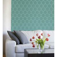 Hourglass Stencil Design - Reusable Stencill For Diy Wall Decor - Like Wallpaper