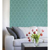 Hourglass Stencil Design - Reusable Stencill For Diy Wall Decor - Like Wallpaper