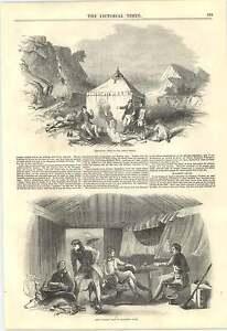 1846-Benjamin-Edgington-Tents-For-Sportsmen-And-Mariners-Deer-Stalkers