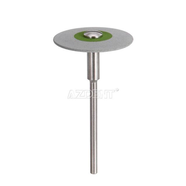 Dental Rubber Diamond Polisher Wheel Disc for Porcelain 26mm HP Fine Grey