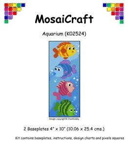 MosaiCraft-Pixel-Craft-Mosaic-Art-Kit-039-Aquarium-039-Pixelhobby