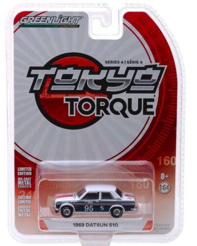 1969 DATSUN 510 Race Car #95 leitzinger ** Greenlight Tokyo Torque 1:64 OVP