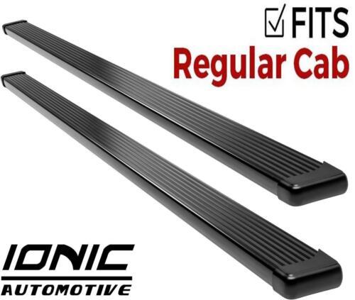 Ionic Billet Black fits 2005-2015 Toyota Tacoma Regular Cab Running Boards Step