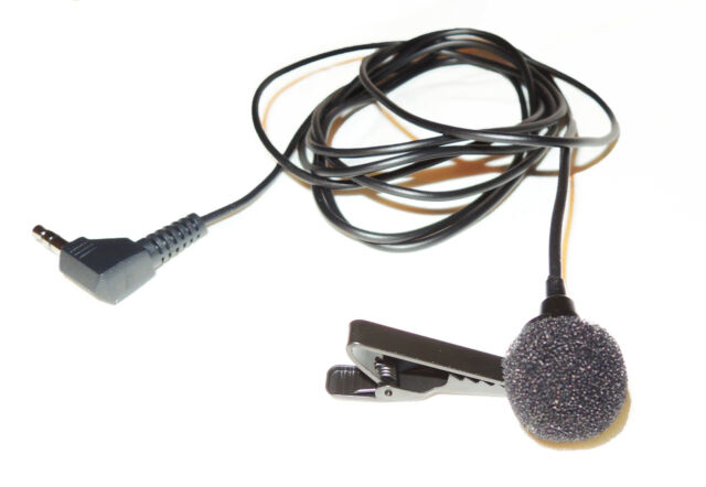 Omni Mono Lavalier Microphone - Giant Squid Audio Lab. Made in USA.