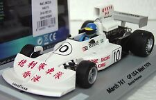 FLY 88316 MARCH 761, US GP WEST NEW 1/32 SLOT CAR IN DISPLAY