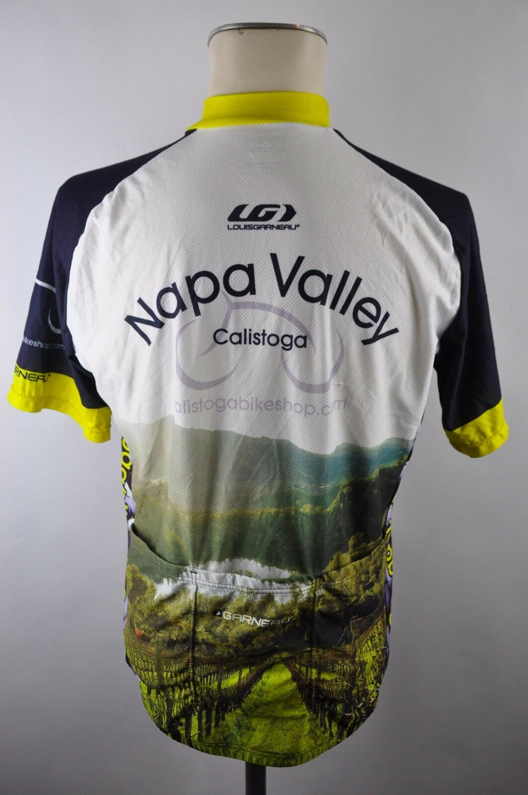 Louis Garneau Nappa Nappa Nappa Valley CYCLING JERSEY MAGLIA Ruota Maglia Taglia M 56m 21d 6bfe10
