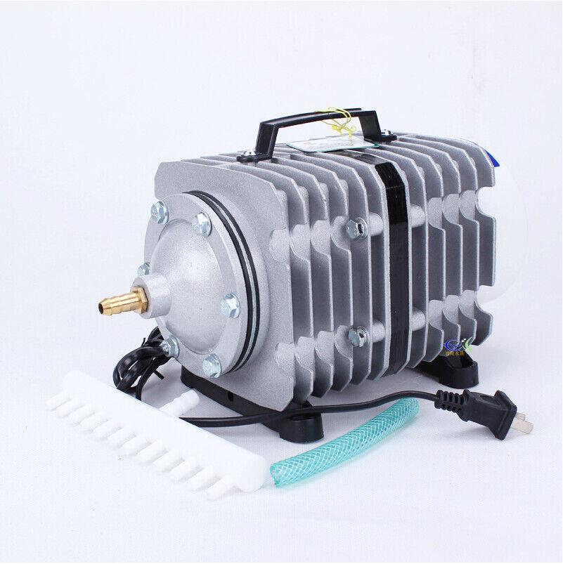 Electromagnetic Air Pump, Sunsun 100L Min ACO-008 Oxygen Pump Fish Aquarium Tank