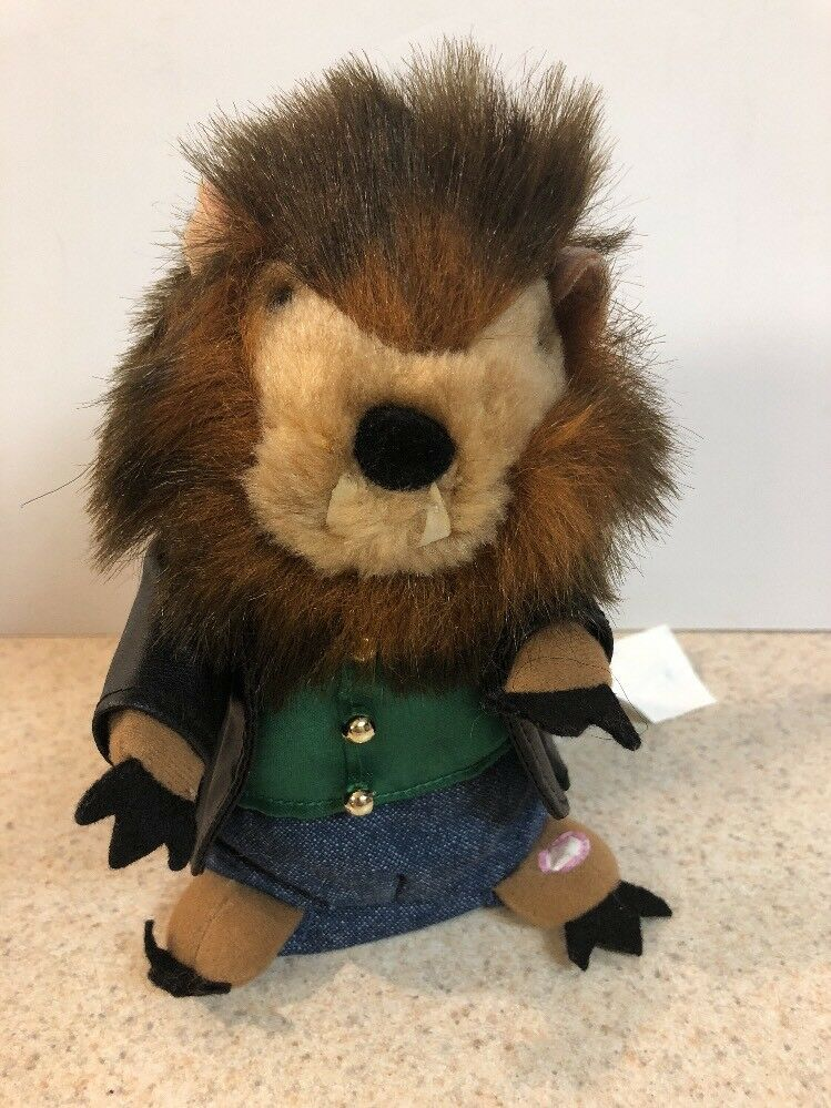 GEMMY RARE HALLOWEEN DANCING SINGING Groundhog HAMSTER WOLF MAN CLAP For