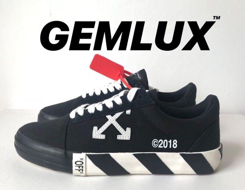OFF-bianca Vulc scarpe da ginnastica in tela taglia 42
