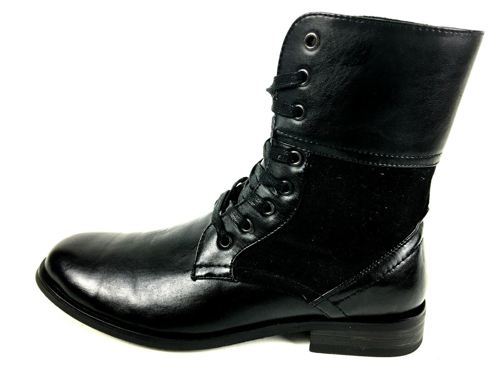 UH Men's  Black Mid Lace up  Boots Size 10 US.