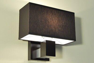 Neu Wandleuchte Designerleuchte Design Wandlampe JK12A Holz Stoff