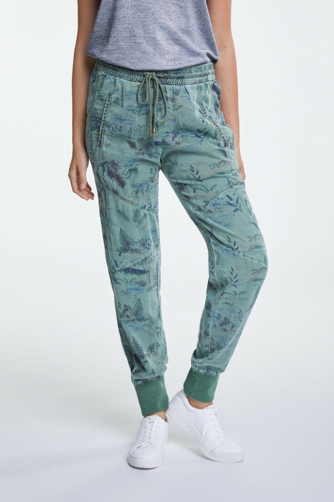 Cargo-Slim-Hose, Marke  oui, Farbe  Khaki, Größe 38, 40
