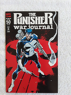 ~ NM//UNREAD B507 The PUNISHER War Journal #50 1993 MARVEL Comics