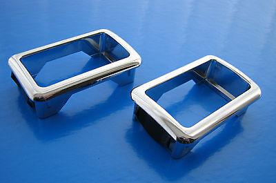BMW 3 Series E36 Chrome Single Window Switch Surrounds - Genuine BMW