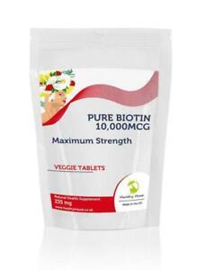 Biotin-10-000mcg-B7-235mg-x90-Tablets-Letter-Post-Box-Size