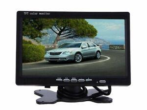 Monitor-LCD-7-0-Pollici-Auto-retromarcia-Con-Telecomando-2-Ingressi-AV-Per-Video