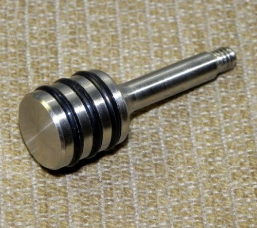 Custom Stainless Steel O-ring Ribbed Drum Handle for Crosman 2240 2250 1322 1377