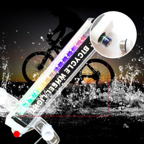 Modern 16 Colorful LED Lights Bicycle Bike Cycling Spoke Light Cool Wheel