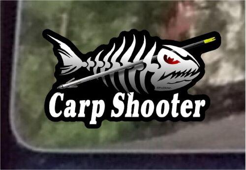 "3.5/"" x 7/""  Carp Shooter Bowfishing Decal Sticker ProSticker 1516 One"