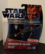 Darth Sidious /& Darth Maul Star Wars Movie Heroes Emergence of the Sith