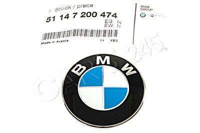 Genuine BMW E52 Roadster Trunk Lid Z8 Emblem Badge Logo Sign OEM 51147009130