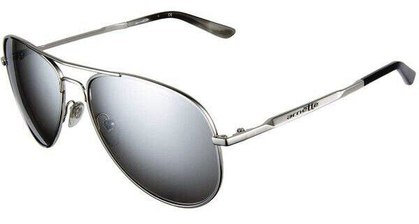a659fac02a ARNETTE Trooper sunglasses - AN 3065-05 635/6G - Polished Chrome MIRROR  Aviator