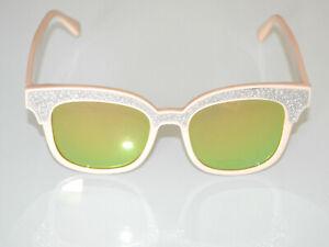Gafas-de-sol-mujer-beige-plateadas-lentes-verdes-oculos-de-sol-sunglasses-BB16