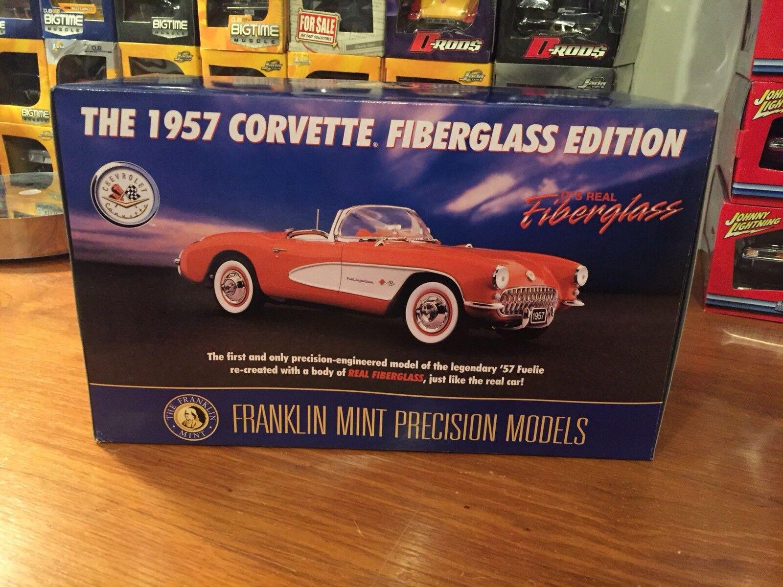 Franklin Mint 1:24 1957 Chevy Corvette Fuelie Fibreglass Edition