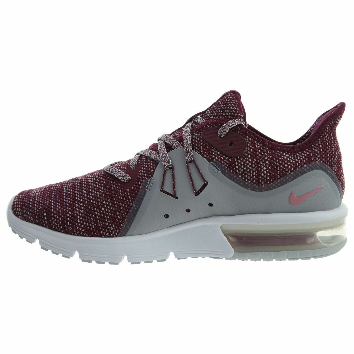 WOMEN'S NIKE AIR MAX SEQUENT 3  908993-606 Bordeaux Knit Knit Knit Running shoes 6db5a7