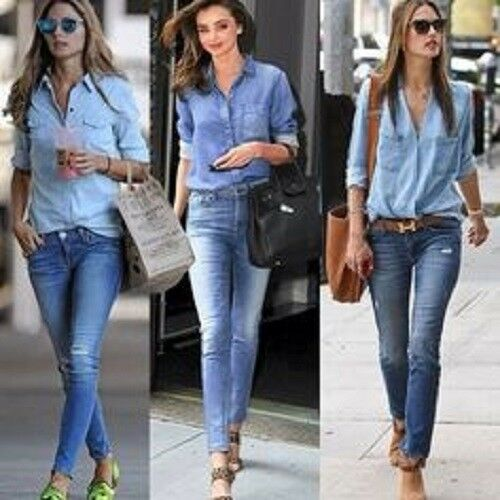 $152 Terrific BELLA DAHL Fitted Chambray Button D… - image 10
