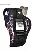 Gun Holster For Smith & Wesson M&p Shield 9mm & 40 Caliber muddy Girl