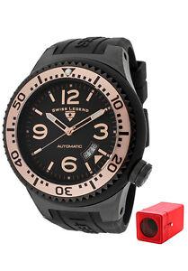 Swiss-Legend-Neptune-Men-s-Swiss-Made-Automatic-Watch-Rose-Gold-FREE-Winder-NEW
