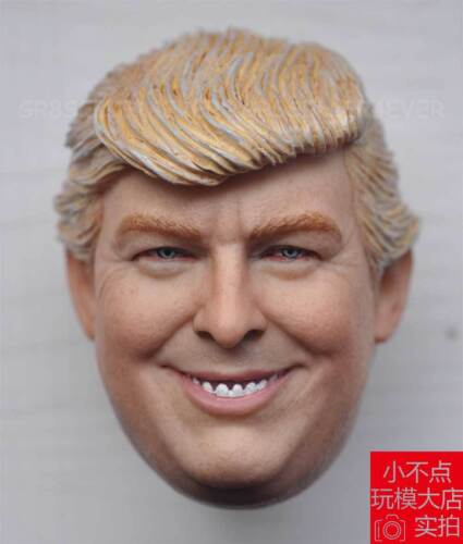 custom 1//6 Scale Donald Trump Head Sculpt