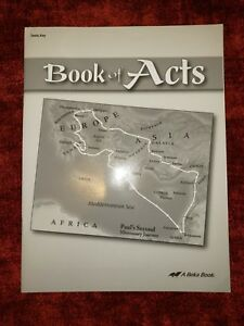 Details about Abeka 8th Grade Bible Book of Acts Teacher Test Answer Key  Parent Kit Beka 8