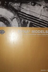 2013 Harley Davidson DYNA MODELS Parts Catalog Manual Book Brand New