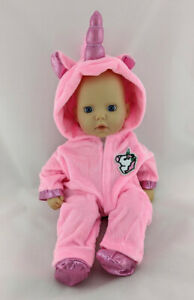 UNICORN OUTFIT JUMPSUIT FITS MY FIRST BABY ANNABELL PINK ...