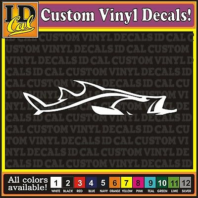 fishing boat truck car window vinyl decal bumper stickers fish fishin