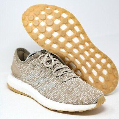 adidas Pure Boost Trace Khaki Knit