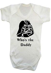 heiß-verkaufendes spätestes Offizieller Lieferant Entdecken Details zu Darth Vader Star Wars Body Weste, Strampler, Strampler,  Geschenk, Babykleider