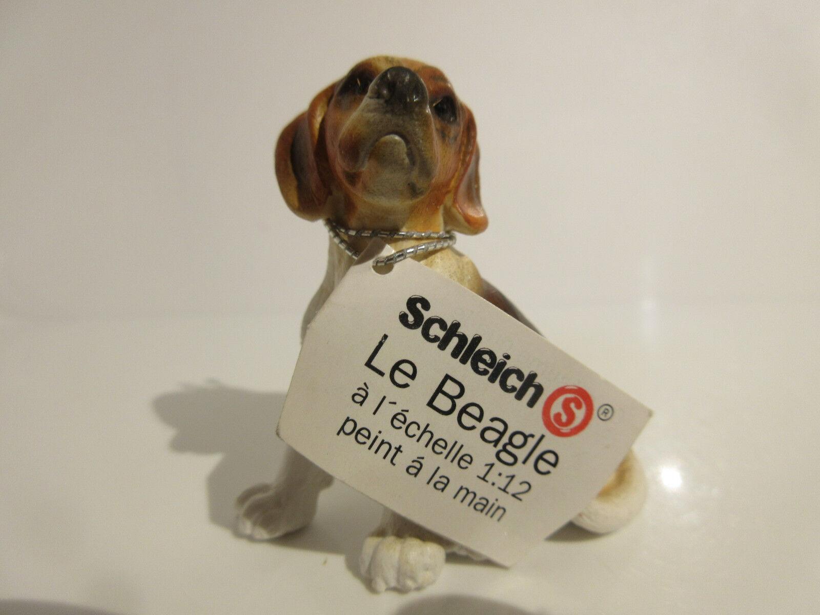16302 Schleich Dog  Beagle, sitting  booklet   ref 21P83