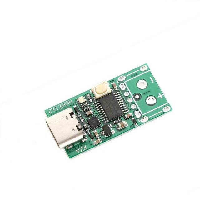ZY12PDN TypeC PD2.0 3.0 to DC Decoy Fast ChargeTrigger Poller Detection Module d