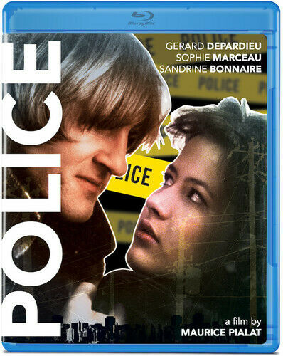 Police (1985 Gerard Depardieu) BLU-RAY NEW