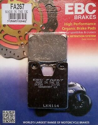 Front Rear Motorcycle Brake Pads Set for YAMAHA YZF R7 5FL1 99-01 YZF R1 98-01