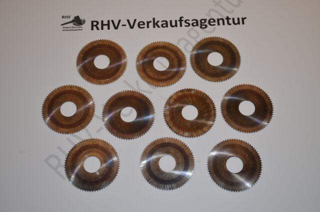Metall-Kreissägeblätter, Ø63(52,8)x0,45x16, HSS, 10Stück,  RHV7696