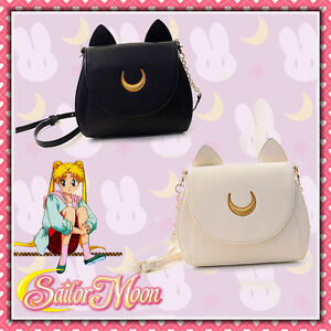 SAILOR-MOON-Borsa-BAG-black-white-Usagi-cosplay-lolita-japan-kawaii