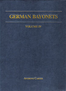 Book-German-Bayonets-Volume-IV-Regulation-Pattern-Sword-Bayonets-1860-1900